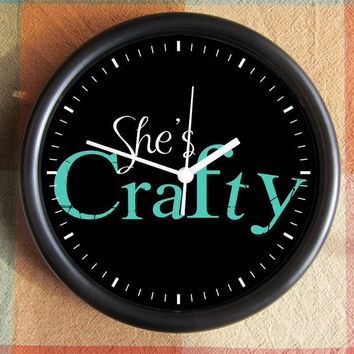 She's CRAFTY ETSY Special Limited 10 inch by Backstreetcrafts