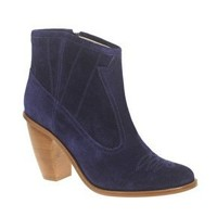 Opening Ceremony Coachella 1 Western Suede Ankle Boots at ASOS