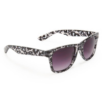 PS from Aero  Kids' Sparkly Leopard Print Waymax Sunglasses