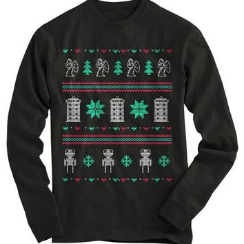 Doctor Who Ugly Christmas Sweater - On Sale