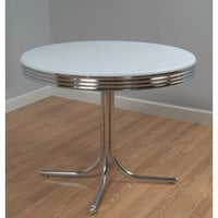 Bistro Retro Dining Table | Overstock.com