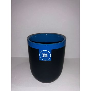 M&M's World Teacup Matte Blue New