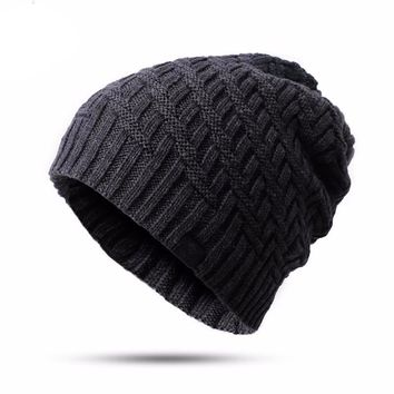 High Quality Men's Knitted Beanie