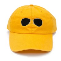 Shades Dad Hat in Yellow