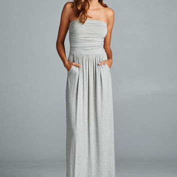Everyday Maxi Dress - Gray