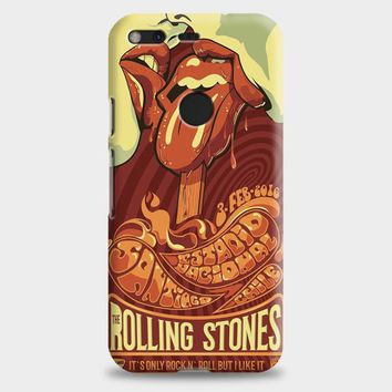 Rolling Stone Poster Art Google Pixel Case | casescraft