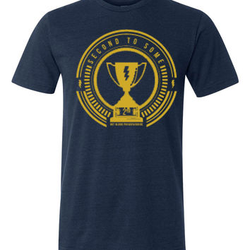 Hot Blood Second to None Navy T-shirt