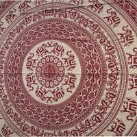 Elephant Mandala, Wall Hanging Tapestry, Indian Elephant Tapestry, Ethnic Decor Art Bedspread, Hippie Hippy Wall Hanging,