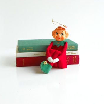 Vintage Knee-Hugging Pixie Elf - Large