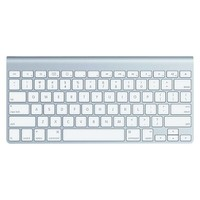 Apple® Wireless Keyboard - Silver (MC184LL/A)