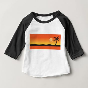 Island Sunset Baby T-Shirt