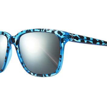 Sheriff&Cherry G12S Wildcat Sapphire Sunglasses, Mirror Lenses