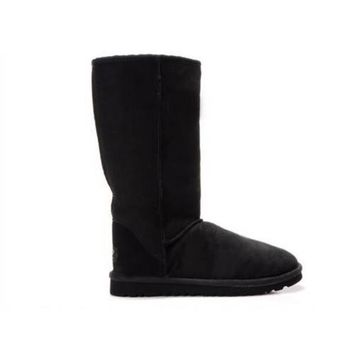 Ugg Boots Sale Black Friday Classic Tall 5815 Black For Women 80 22