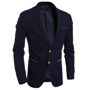 Mens Blazers Slim Fit Mens Suit