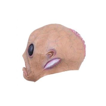 ONETOW Scary Silicone Face Mask Big Eye Alien Extra Terre