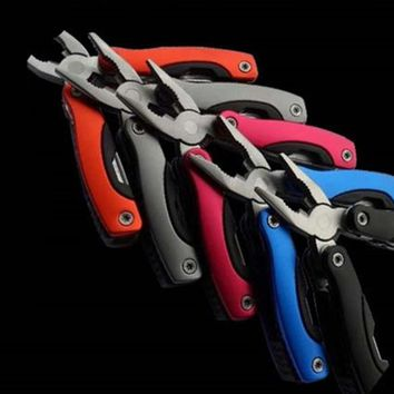 High quality Stainless steel mini multi-function knife pliers Outdoor tools Multi-purpose pliers