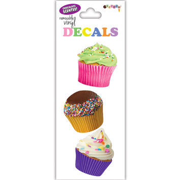iScream Cupcakes Small Decal Stickers