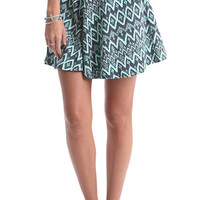 Nollie Mint Tribal Skater Skirt at PacSun.com
