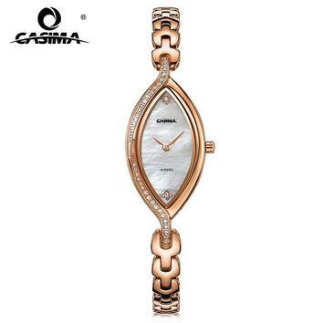 2018 Fashion Luxury Brand CASIMA Women's Bracelet Watches Montre Femme Casual Waterproof Ladies Quartz Watch Relojes Mujer #2609