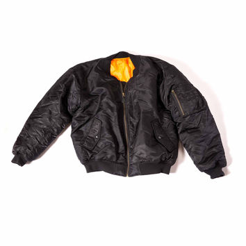 Bomber Jacket // Black Label
