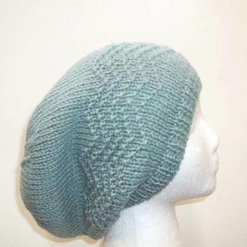 Slouch hat knitted 5320
