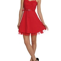 Doctor Who Her Universe Red Dalek A-Line Dress