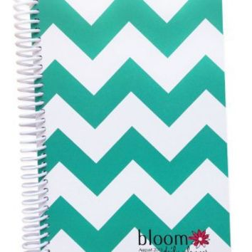 "Bloom Daily Planners 2016 Calendar Year Daily Planner -Passion/Goal Organizer - Monthly Weekly Agenda Datebook Diary-January 2016 - December 2016 - 6"" x 8.25"" -Teal"