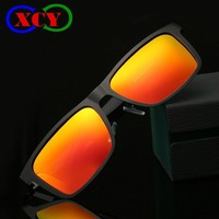 s Rectangle Mirror Sunglasses UV400 Polarized Lens Sports Fishing Driving Sun Glasses oculos Male Outdoor Eyewear Accessories