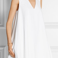 The Row - Glendale stretch-cotton poplin mini dress