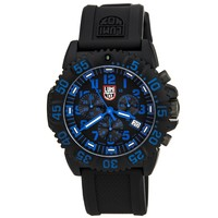 Luminox 3083.NEWBLUE Men's Colormark Chronograph 3080 Navy Seal Black Dial Dive Watch