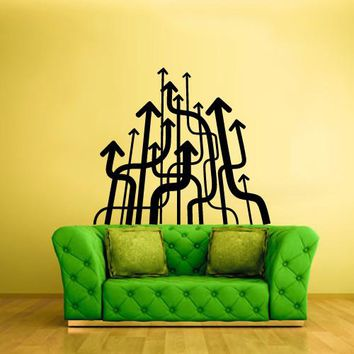 Wall Decal Vinyl Decal Sticker Decor Art Bedroom Modern Fashion Arrows Style  z541