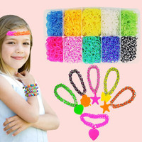600 Loom Bands Kits with Weaving Machine