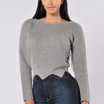 Voodoo Sweater - Grey
