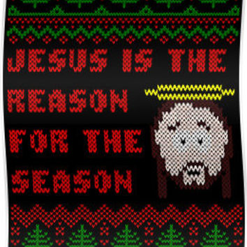Jesus is The Reason for The Season Ugly Christmas Sweater