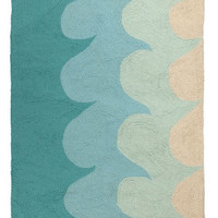 Sea Glass Wave Accent Rug
