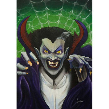 The Count Art Print by Artist Phil Graves