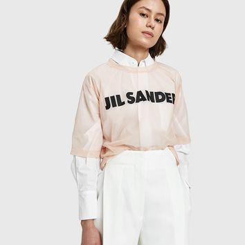 Jil Sander / T-Shirt CN Short Sleeve in Pink