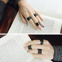 Black Knuckle Rings sold by Wicced
