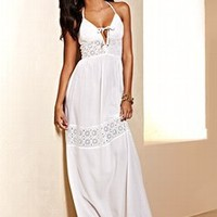 Eyelet-trim Maxi Dress - Victoria's Secret