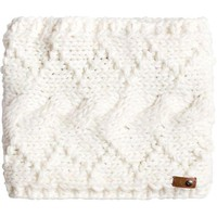 DCCKJ3R Roxy Winter Neck Warmer - BRIGHT WHITE