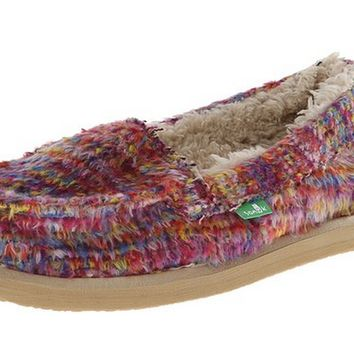Sanuk Meltaway Slip-On Cerise Loafers
