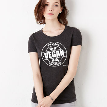 FTLA Apparel - Female Triblend Jersey Tee - Vegan Plant Protein