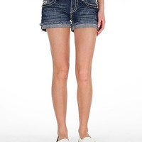 Miss Me Frayed Hem Short