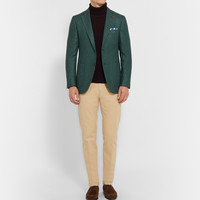 Isaia - Wool and Silk-Blend Blazer | MR PORTER