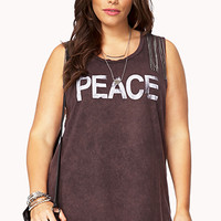Chained Peace Muscle Tee