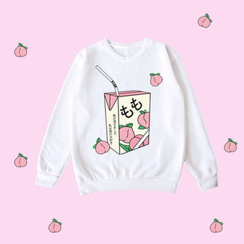 KOKO Peach Unisex sweatshirt from Kokopie