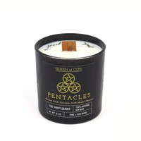 Pentacles Candle