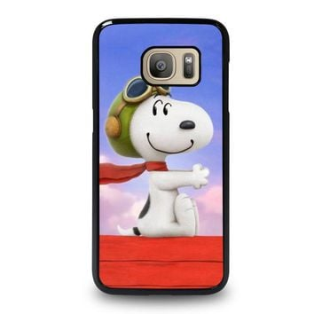 SNOOPY DOG Samsung Galaxy S7 Case Cover