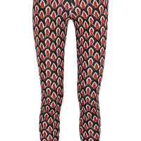 No Ka'Oi - Helu printed stretch-jersey leggings