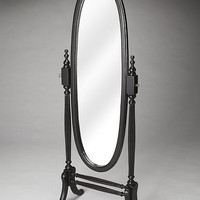 Butler Specialty Caroline Black Licorice Cheval Mirror - 4109111